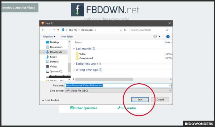 simpan video facebook cara download video di facebook tanpa menggunakan aplikasi download video kualitas hd di fb sendiri di google chrome browser